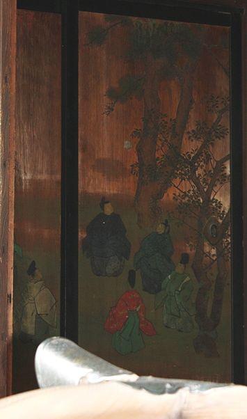 今秋の京都御所・一般公開の番外編(障壁画など): 京 歩き